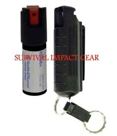 Smith Wesson Mace Security Police Pepper Spray Self Defense with Black Case   eBay