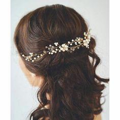accessoires cheveux coiffure mariage chignon mariée bohème romantique retro, BIJOUX MARIAGE (121)