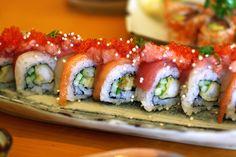 Chef's Special Roll @ Okoze Sushi restaurant in San Francisco, CA