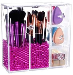 Langforth Brush Holder Lipstick Puff Drawer Dustproof Box Premium Quality 5mm in Health & Beauty, Make-Up, Make-Up Cases & Bags | eBay!