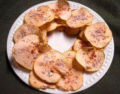 Cinnamon Apple Chips.