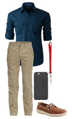 """""""Casual Everyday"""" by hannahwelch2001 on Polyvore featuring LE3NO, Jeep, Sperry, Givenchy, Incase, men's fashion and menswear"""