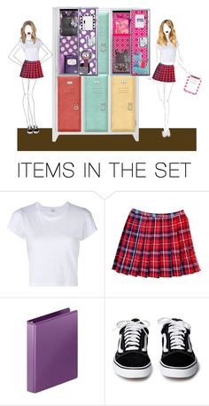 """at school"" by briana1964 ❤ liked on Polyvore featuring art"