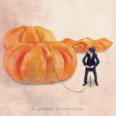Halloween, Pumpkin, Food photography, Pumpkin deep orange, Miniature pumpkins, Little pumpkin, Orange halloween, 6x6(15x15cm)