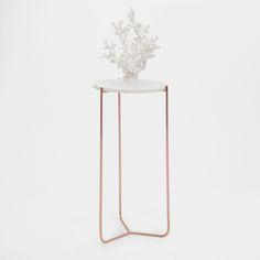 Mesa auxiliar de marmol redonda - MUEBLES - DECORACIÓN | Zara Home España