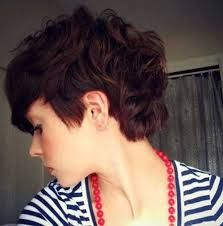curly hair pixie cut before and after - Google Search