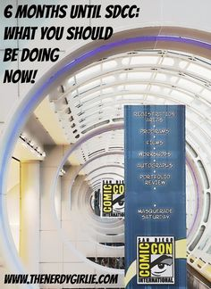 Comic Con Tips: 6 Months till SDCC! What You Should Be Doing NOW!