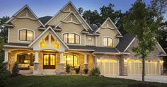Gorgeous Gabled Dream Home Plan - 73326HS | Craftsman, Northwest, Exclusive, Luxury, Photo Gallery, Premium Collection, 2nd Floor Master Suite, Butler Walk-in Pantry, CAD Available, Den-Office-Library-Study, Jack & Jill Bath, Media-Game-Home Theater, Multi Stairs to 2nd Floor, PDF | Architectural Designs