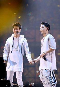 Bobby and Chanwoo. Omg they like perfect♥