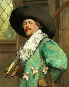 Musketeer in Art. Alex de Andreis