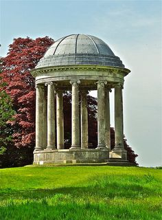 The Rotunda  Petworth Park. West Sussex, England