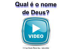 Você sabia que Deus tem um nome? Deus nos diz o seu nome na Bíblia: Jeová! Para saber mais, por favor, clique neste link para ver o vídeo on-line, ou baixar uma cópia gratuita: http://www.jw.org/pt/publicacoes/livros/boas-noticias-deus-voce/quem-e-deus/video-nome-de-deus/  (Did you know that God has a name? God tells us his name in the Bible, Jehovah! To learn more, please click on this link to watch the video online, or download a free copy.)