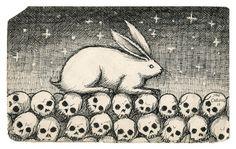 Rabbit & Skulls | Jon Carling