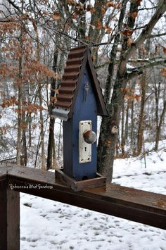 "Rustic Bird-feeder ~ ""the Diner"""