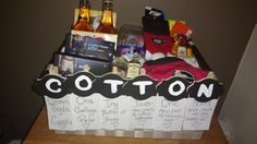 Cotton Anniversary Gift Idea For Him I Got An Oooh And Ahhh From This One