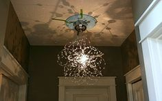 Isabella & Max Rooms: How To Convert A Recessed Light To Hang A Chandelier