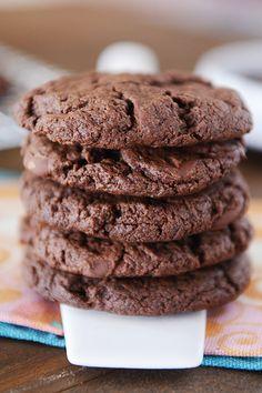 Egg-Free Double Chocolate Cookies