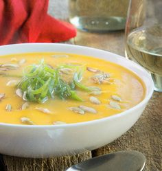 Butternut Squash Soup by Paleo Magazine. Warm your home with this rich and healthy soup. http://www.chefd.com/collections/all/products/butternut-squash-soup