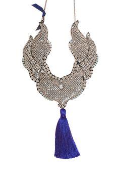 Galia, bijoux brodés