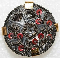 c1775 French passementerie button.
