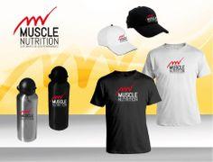 JuRehder - Criação de Logo e identidade visual de produtos de suplementação para atividades físicas Muscle Nutrition - Campinas/SP
