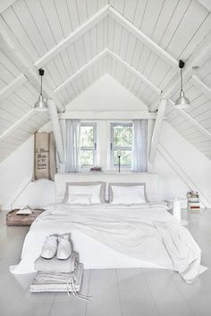 Check Out 39 Dreamy Attic Bedroom Design Ideas. An attic bedroom is usually associated with romance because it's great to get the necessary privacy.