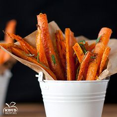 French fries are my guilty pleasure. While I do indulge once in a while, these tasty little treats are so much healthier and completely guilt free. Serve them up with a dip or alone. I promise they…
