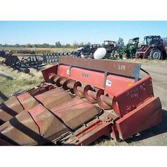 Case IH 1044 header dismantled for used parts. Call 877-530-4430 for parts or visit us online at http://www.TractorPartsASAP.com Thousands of salvaged tractors, vintage tractors, antique farm and ag equipment.
