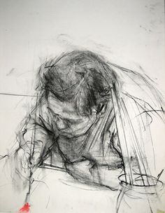 Ginny Grayson, Antonia Drawing, 2010.  Charcoal and conte on paper