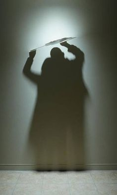Shadow Art – Kumi Yamashita Luz y sombra. Nubes. Esculpo utilizando la luz y la sombra. Construyo uno o varios objetos y ponerlos en relación con una única fuente de luz. Por ello, la obra completa se compone tanto de la materia (los objetos sólidos) y lo inmaterial (la luz o la sombra). http://www.kumiyamashita.com/