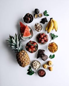 this weeks post is more of an idea than a recipe. a frozen fruit & nut grazing board. low fuss entertaining at its finest! x by gatherandfeast Fruit Photography, Food Photography Styling, Food Styling, Vegetables Photography, Cooking Photography, Frozen Fruit, Fresh Fruit, Good Food, Yummy Food