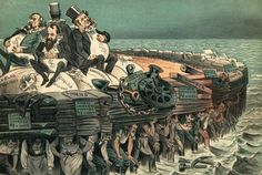 Robber Baron - 19th century business men who engaged in unethical and monopolistic practices, wielded widespread political influence through the use of lobbyists, or in some cases, outright bribery of politicians. The concept of laissez faire capitalism, which dictated no government regulation of business and exploiting workers created conditions which favored vast accumulations of wealth.