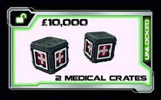 Unlocked our first Stretch goal 2 medical crates. #LaserTerrain #warhammer30k #zonemortalis #warhammer40k #infinitythegame #spacecrusade