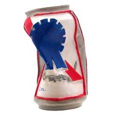 Crushed Beer Can Custom Shift Knob | johnnylawmotors.com