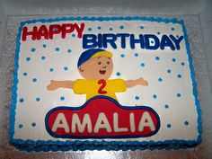 Caillou Cake  on Cake Central