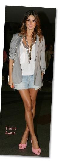Jeans Skirt - Thaila Ayala