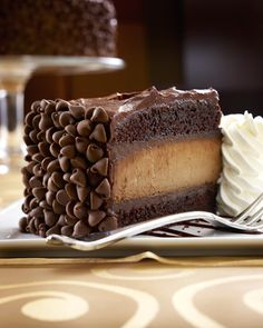 Death by chocolate but what a great way to go! #dessert #cake