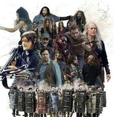 SEASON 10 Walking Dead Season 9, Fear The Walking Dead, All About Me Project, Best Zombie, Stuff And Thangs, Daryl Dixon, New Shows, Bye Bye, Just Go