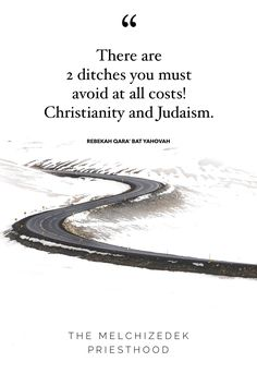 I learned this from Dr. David Perry, Th.D. all know it. There are no rabbinic's or paganism on the Narrow Path we must walk. Neither of these ditches can claim that! Click on link to check out video teachings on the change of Priesthoodss. Melchizedek Priesthood, Golden Calf, Paganism, Judaism, The Covenant, Christianity, David, Faith, Change