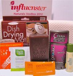 influenster naturals voxbox 2012
