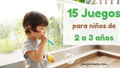 20 Juegos para padres e hijos (2 años a más) - JuegoIdeas Mommy Humor, Baby Learning, Infant Activities, Leo, Delaware, Gabriel, Chicago, Victoria, Learning Games