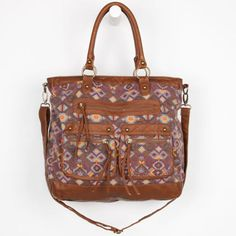 T-Shirt & Jeans Portia Tote Bag Brown Combo One Size For Women 24126044901