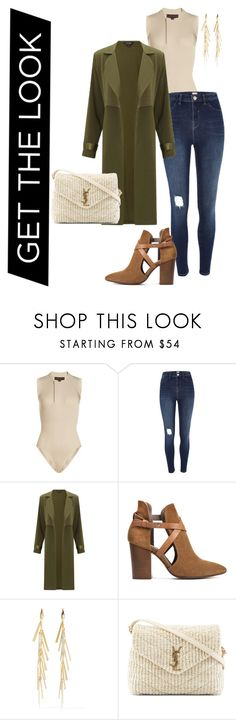 """get the look"" by kety-de-jesus on Polyvore featuring moda, adidas Originals, River Island, Miss Selfridge, H London, Isabel Marant e Yves Saint Laurent"