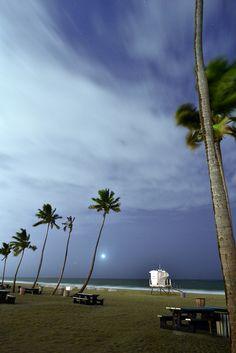 Beach Night Sky (Fort Lauderdale, Florida)