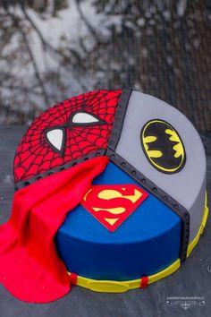 Superhero birthday cake, birthday cakes, avengers birthday, 4 year old boy birthday Avengers Birthday Cakes, 5th Birthday Cake, Superhero Birthday Cake, Superhero Party, Birthday Cakes For Boys, Superman Cakes, Marvel Cake, Pastel Marvel, Avenger Cake