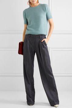 Max Mara - Cashmere And Silk-blend Sweater - Blue - large
