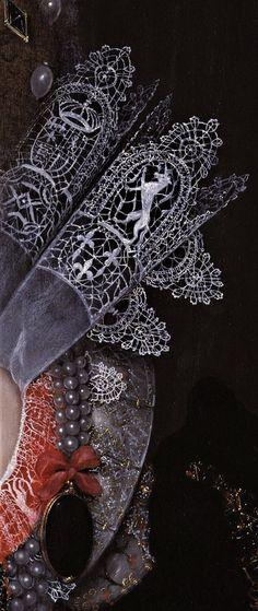 Elizabeth Stuart, Queen of Bohemia Renaissance Kunst, Renaissance Fashion, Lace Painting, Woman Painting, Fashion History, Fashion Art, Detailed Paintings, Hieronymus Bosch, Classic Paintings