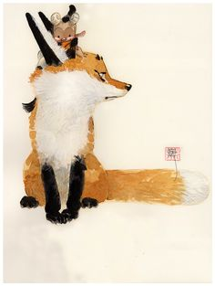 Man Arenas | Yes, I want a giant fox on my new book