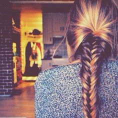 fish tail- hair styling inspiration