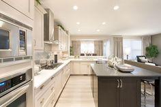 Nice, bright kitchen.